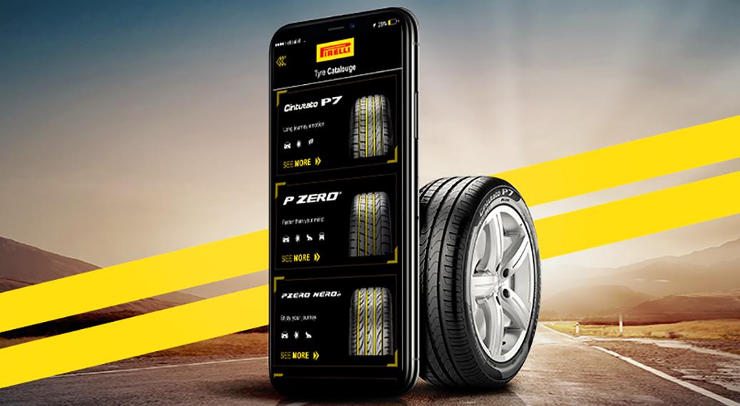pirelli-egypt-mobile-app-tire-design-road