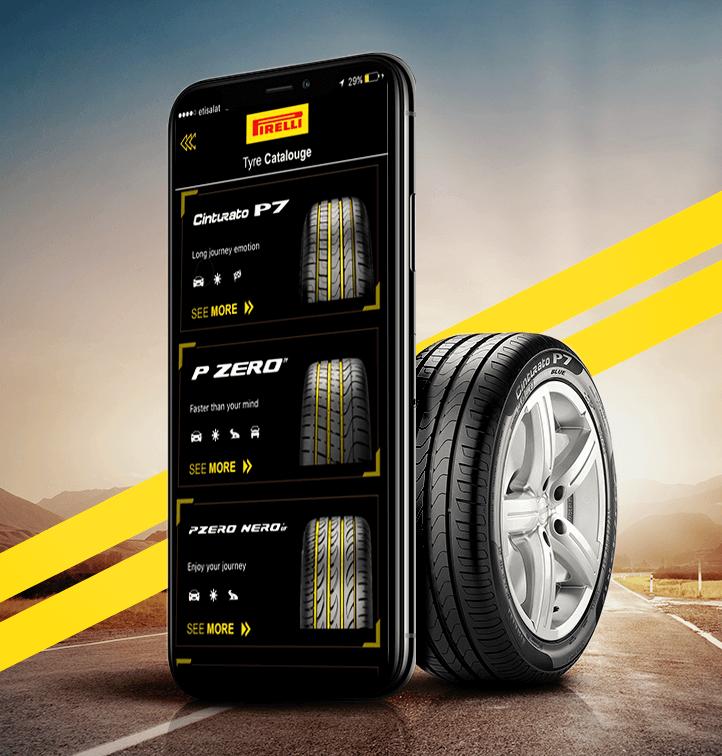 pirelli-egypt-mobile-app-tyre-mockup-design