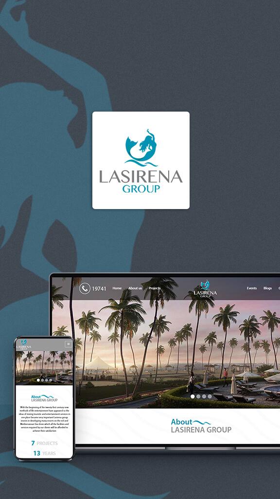 LaSirena-Group-website-on-laptop-mobile-tablet-desktop
