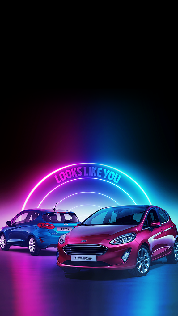two-ford-fiestas-fluorescent-design