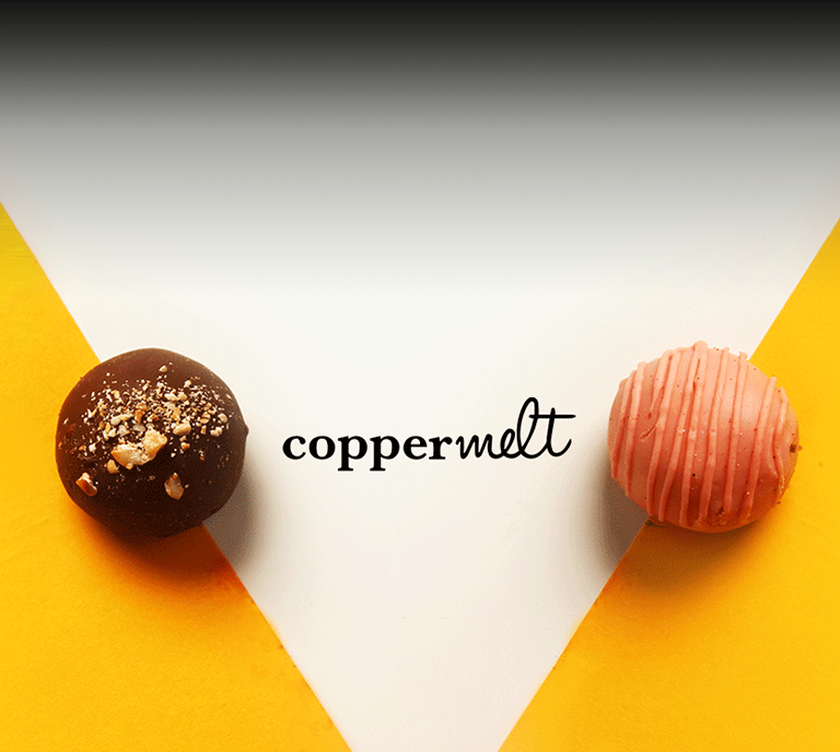 coppermelt-two-chocolate-balls-yellow-design