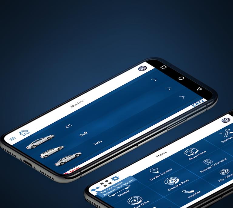 volkswagen-mobile-app-screenshot-with-logo