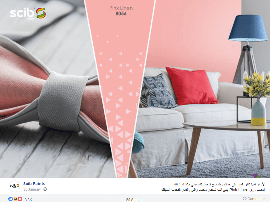 scib-paints-egypt-top-engagement-post-facebook-screenshot
