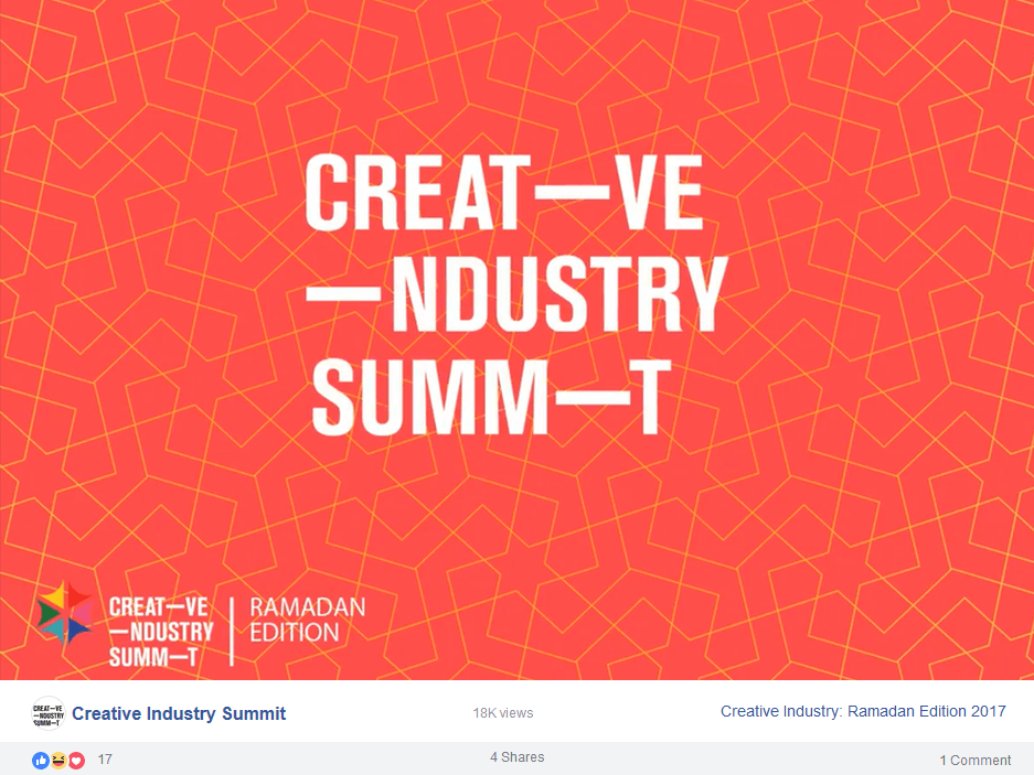 creative-industry-summit-facebook-page-screenshot