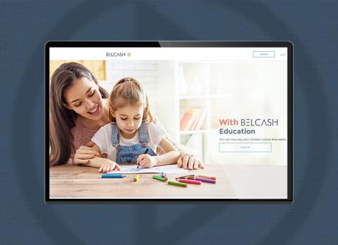 Belcash-website-laptop-mobile-mockup-icon-creations