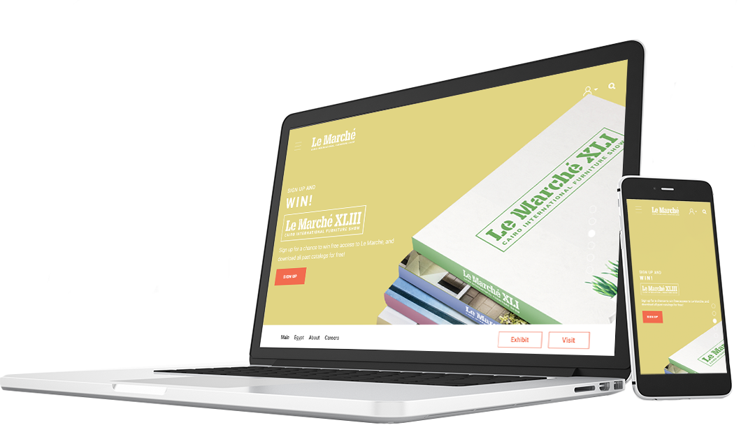 le-marche-website-screenshot-laptop-mobile-mockup